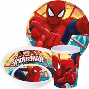 Spiderman ontbijtset