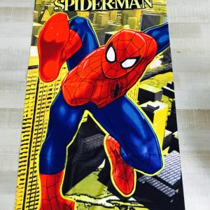 Spiderman strandhanddoek