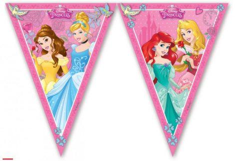vlaggetjes prinsesjes, feestje prinsessen