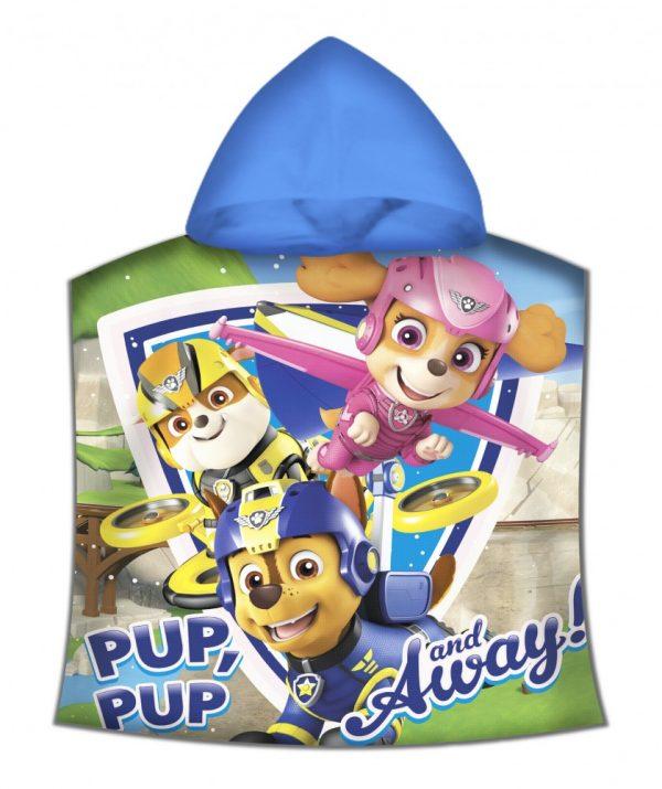 Paw Patrol poncho handdoek