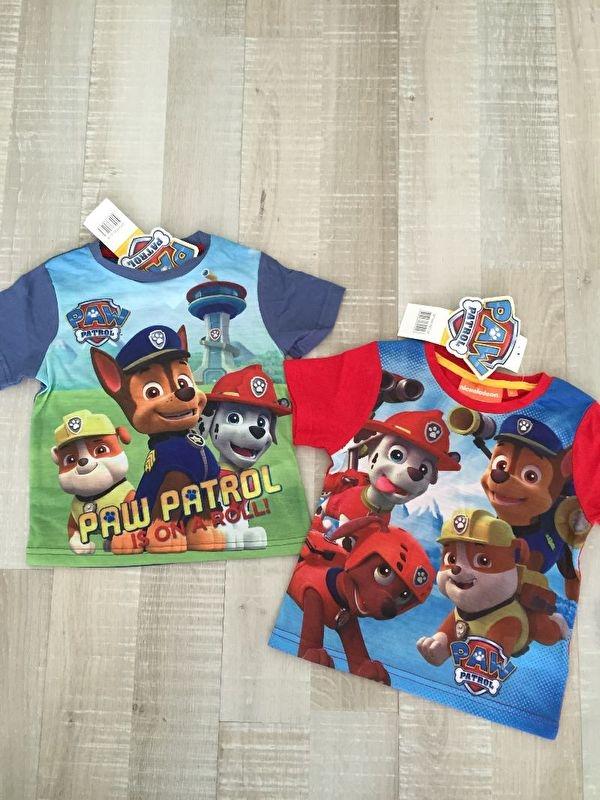 Paw Patrol shirt korte mouwen