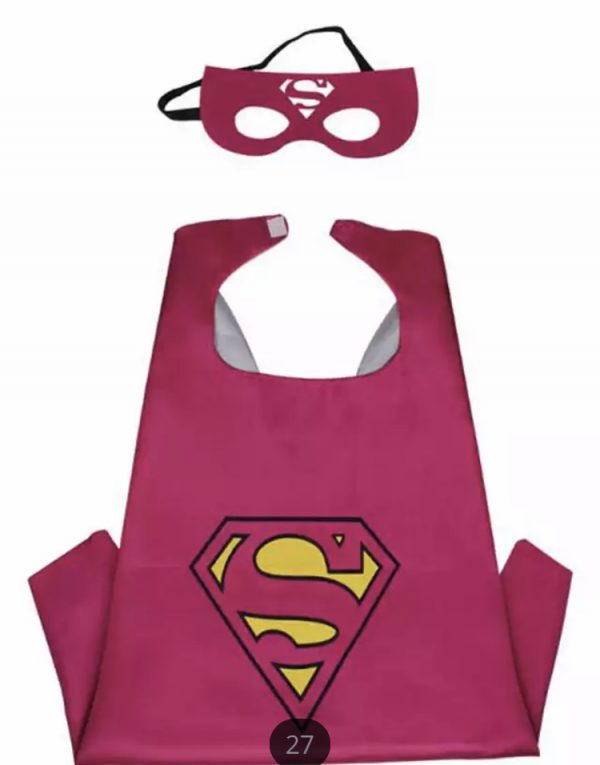 Verkleedcape superman meisje