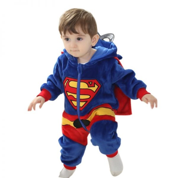 Onesie baby superman