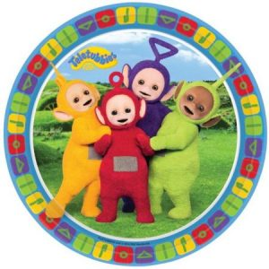 Teletubbies bordjes