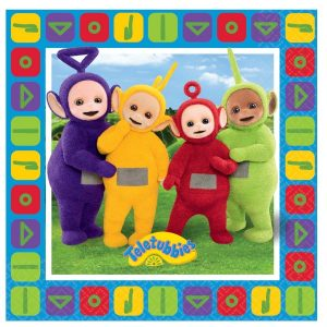 Teletubbies servetten