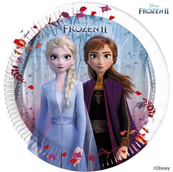Frozen 2 feestbordjes, papieren bordjes voor een frozen feest