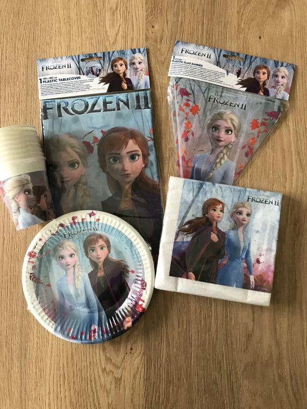 Frozen 2 feestpakket voor een frozen feestje