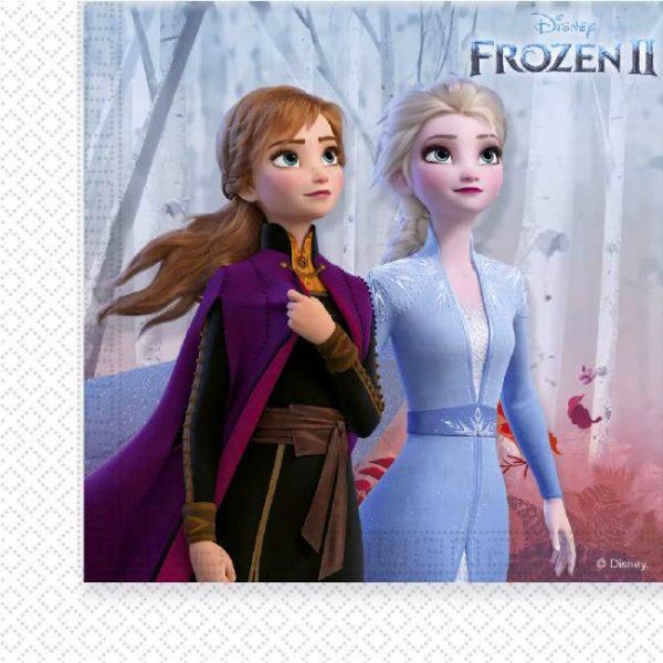 Frozen 2 servetten voor een frozen feestje