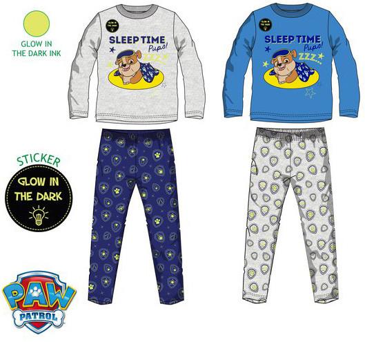 Paw patrol glow in the dark pyjama met Rubble