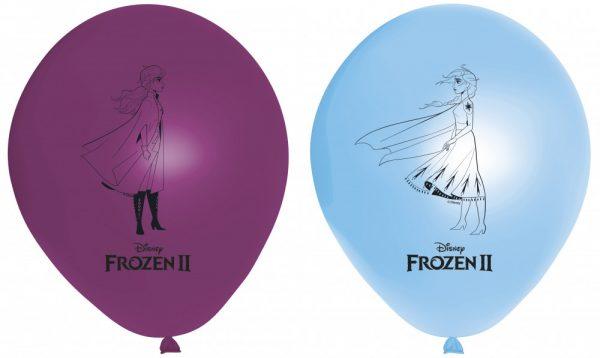 Frozen 2 ballonnen in 2 kleuren voor een Frozen feest