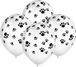 Pootjes van paw Patrol, ballonnen met poot afdruk