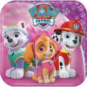 Paw Patrol bordjes