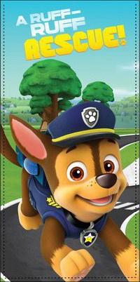 Handdoek Paw Patrol, strandhanddoek Paw Patrol