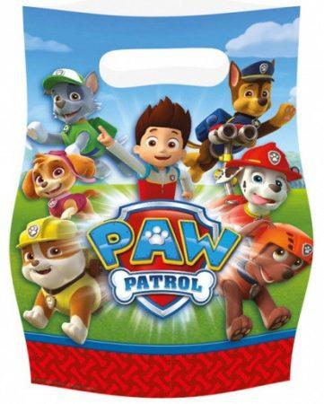 Uitdeelzakjes met Paw Patrol erop.