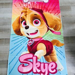 Handdoek met Skye van Paw Patrol