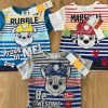 Shirts van paw Patrol, Chase, Rubble en Marshall