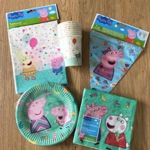 Peppa Pig feestset