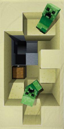 Handdoek Minecraft