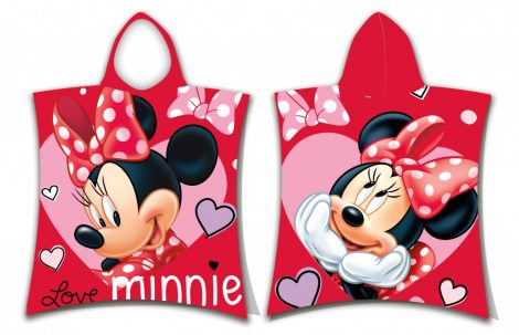 Poncho minnie mouse