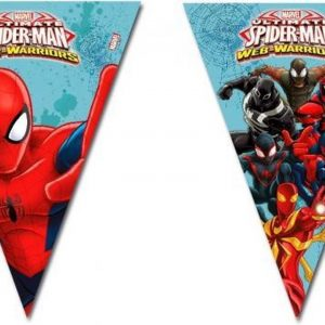 Vlaggetjes Spiderman