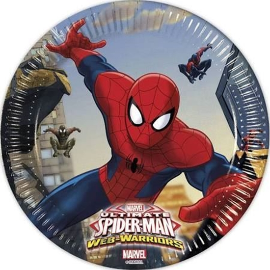 Bordjes Spiderman