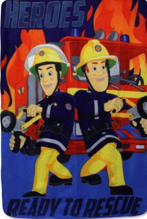 Brandweerman Sam fleecedeken