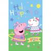 Fleece deken Peppa Pig