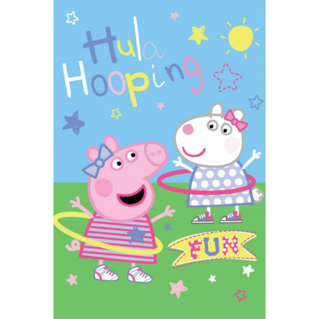 Fleece deken Peppa Pig