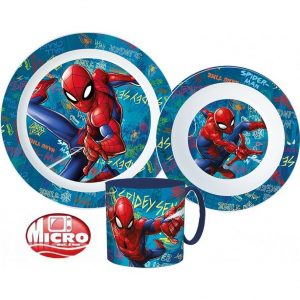 Spiderman dinnerset