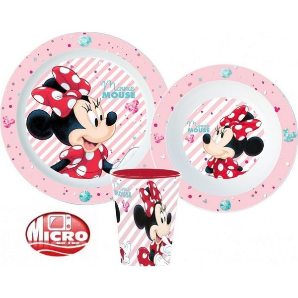 Minnie Mouse dinnerset