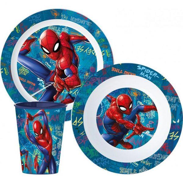 Spiderman eetsetjes