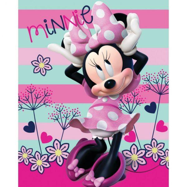 Fleece deken Minnie Mouse