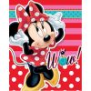 Fleece deken Minnie Mouse