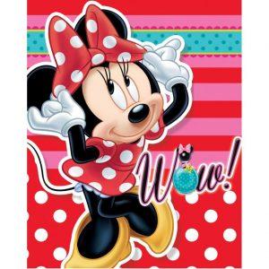 Minnie Mouse fleece deken