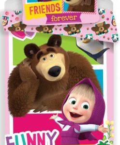 Marsha en de beer dekbedovertrek