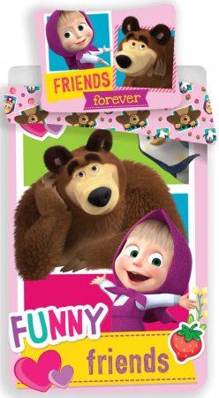 Dekbed Marsha en de beer