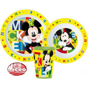 Mickey Mouse dinnerset