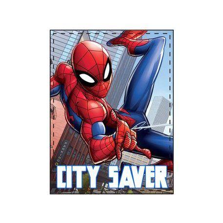 Fleece deken spiderman
