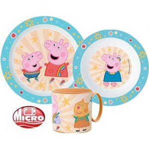 Peppa Pig ontbijtset