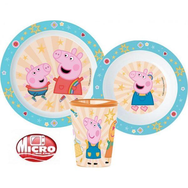 Ontbijtset Peppa Pig