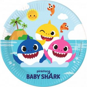 Baby Shark bordjes